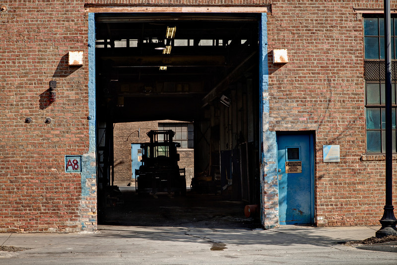 What to say about a warehouse door