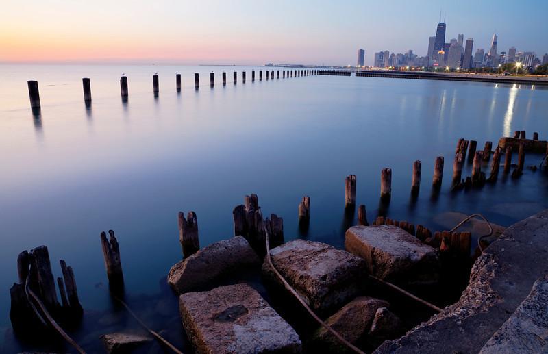 The arced horizon