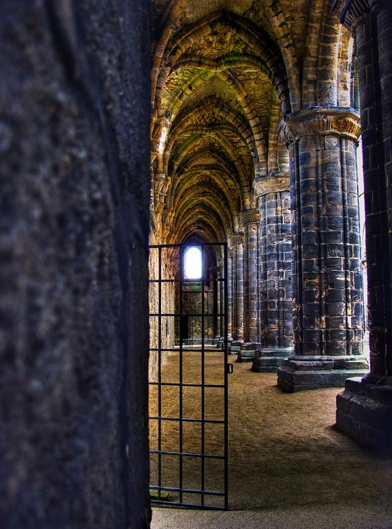 The nave corridor