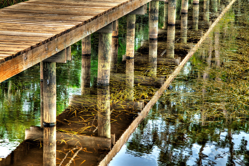 Dock under