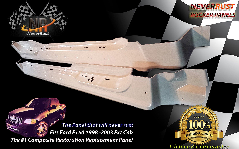 2001-2003 Crew Cab F-150 Rocker Panel Passenger Side