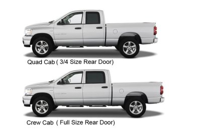 Quad cab vs. Crew