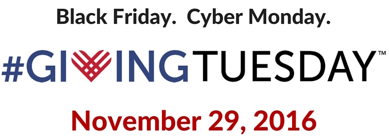#GivingTuesday on November 2016