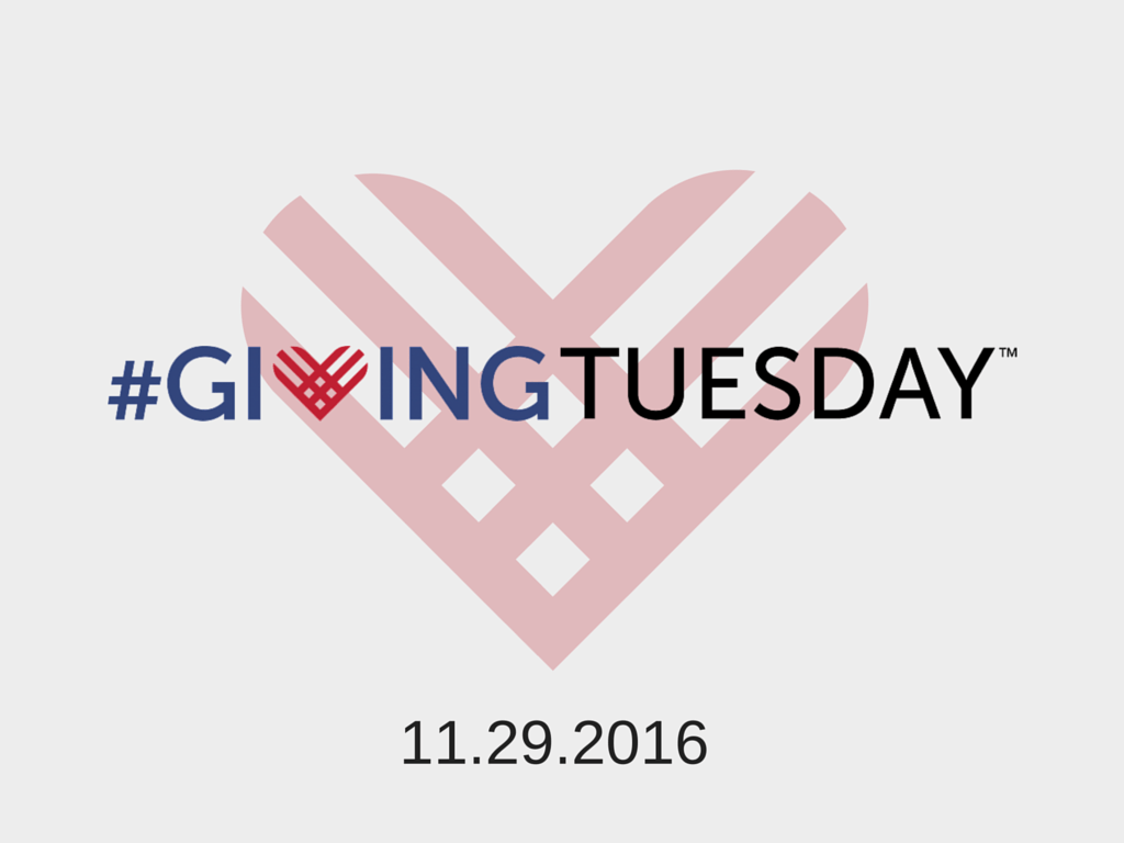 Giving Tuesday on Nov 29 2016