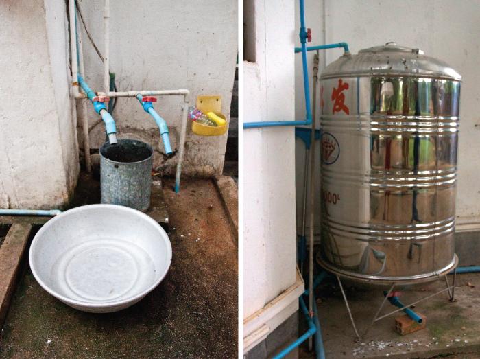 Water tank at CASC