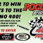 Contest- Pocono 400 Tickets