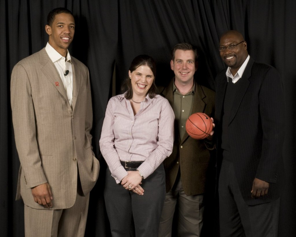 20080331 - MSBoC with Channing Frye Jerome Kersey