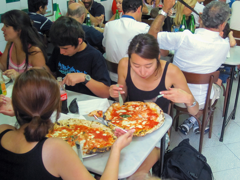 Don Michelle, not the best pizza in Naples