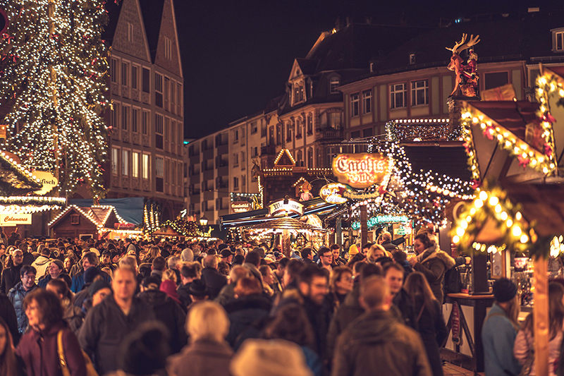 Christkindlmarkt in Frankfurt