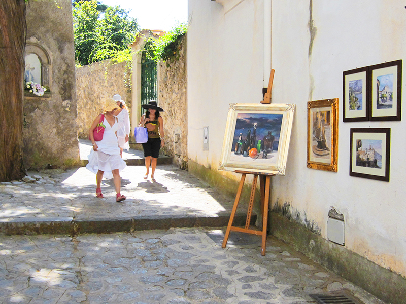 A girlfriend getaway in Ravello, Italy