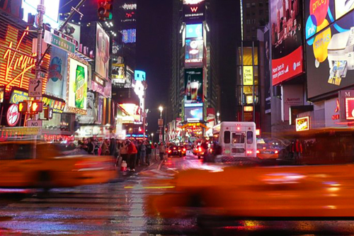 most visited attractions in the USA Times Square