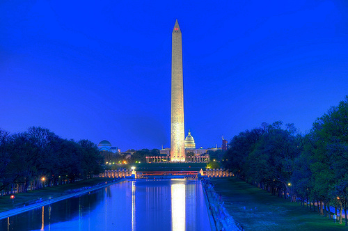 most visited attractions in the USA - the National Mall