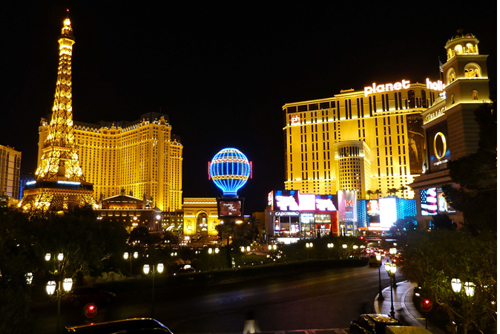 most visited attractions in the USA las vegas