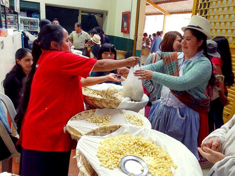 two women in the market