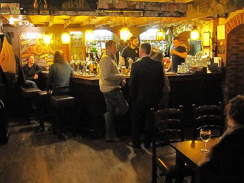 The Last Drop pub, Grassmarket in Edinburgh