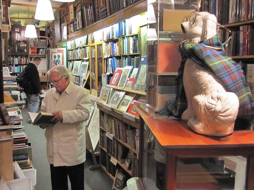 The Old Town Book Shop, Edinburgh's Grassmarket