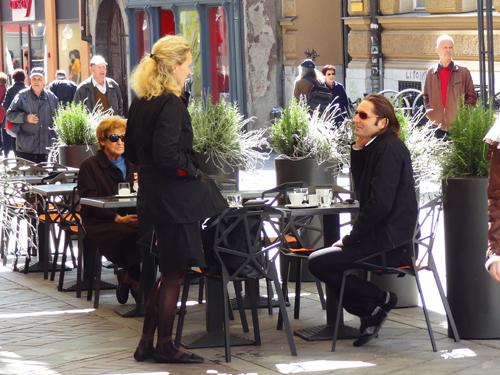 Cafe, Copova Street Ljubljana