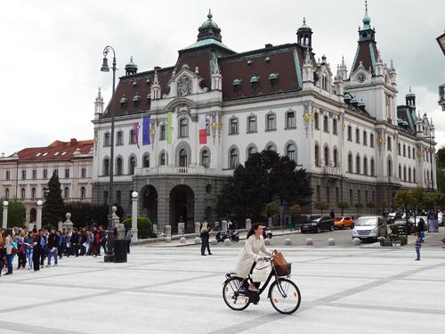 Congress Square and the University of Ljubljana