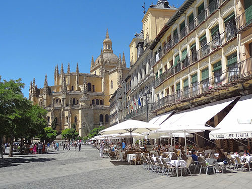 Segovia, Spain, a great place for tourists