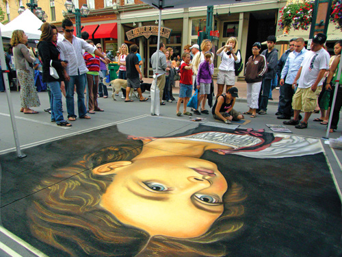 One of the fun things to do in downtown Denver - visit Larimer Square
