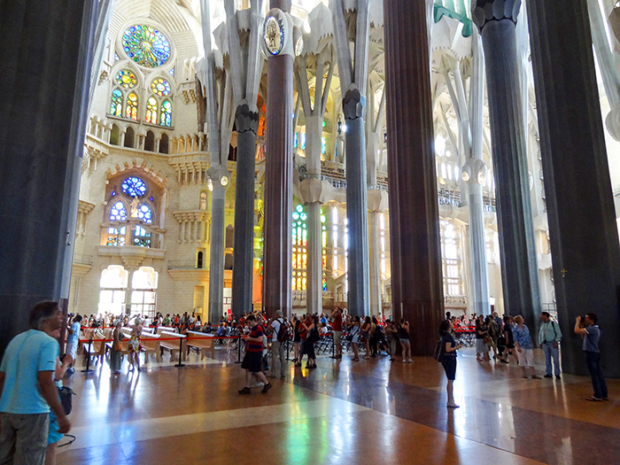 a cathedral in Bracelona