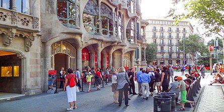 The Barcelona of Antoni Gaudí