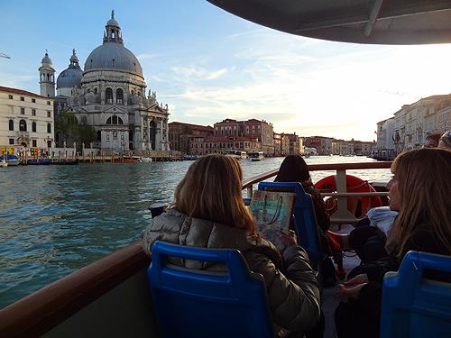 Aboard vaporetto #1 Venice
