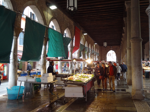 The fish market Venice