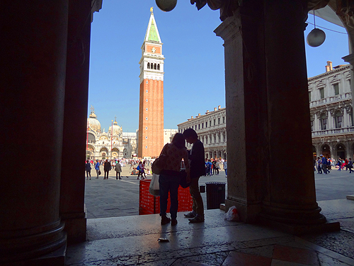 Entrance to St. Mark's Square