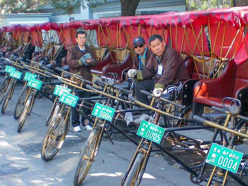 drivers on Beijing hutong tours