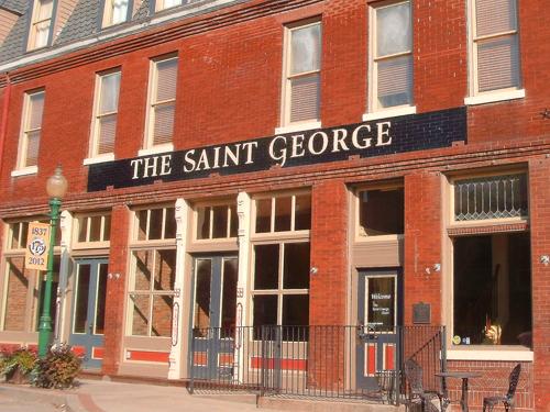 the St. George Hotel in Weston, Missouri