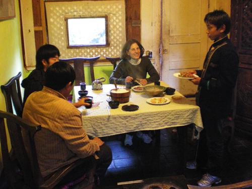 Lunch at Restaurant No. 8, Lijiang