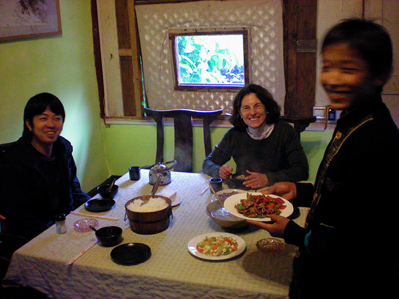 Lunch at Restaurant No. 8, Lijiang