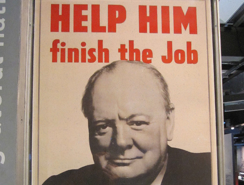 Churchill War Rooms poster