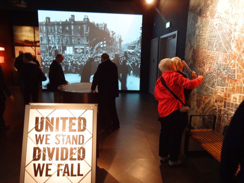 Gallery 1: boomtown times in Belfast Titanic Museum