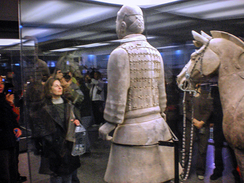 terracotta army Xian, China