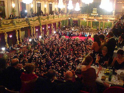 Vienna Philharmonic Ball / photo: Urszula G off-season Europe
