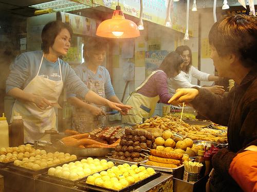 food markets - good for Hong Kong on a budget