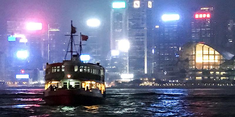 Star Ferry - Hong Kong on a budget