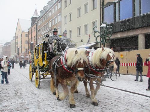 Winter in Nuremberg, Germany / photo: Donna Manz off-season Europe