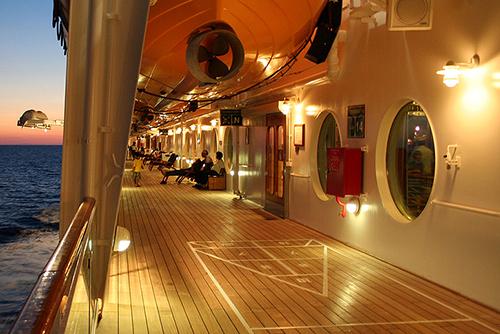 a ship's deck