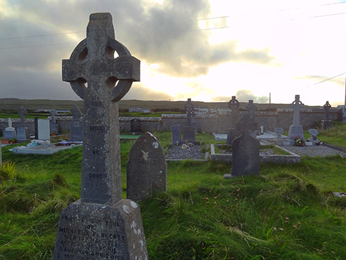 Cemetery near Kilmurvey Aran Islands, Ireland