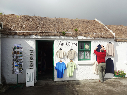 A shop in Kilmurvey