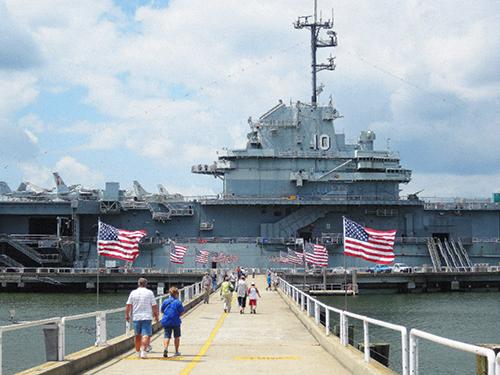 Patriots Point Naval & Maritime Museum / photo: Jim Ferri