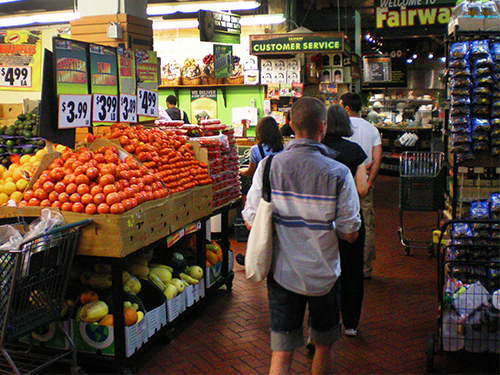Fairway Supermarket, New York great meals