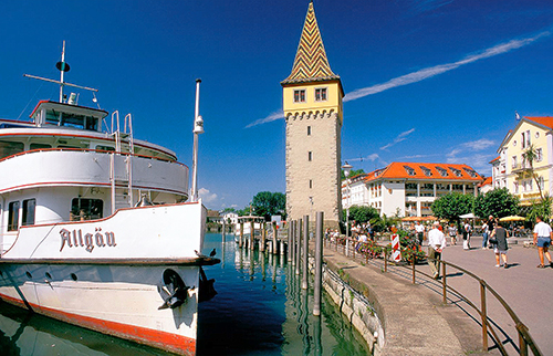 Lindau, Lake Constance / photo: Tourimus Baden Wurttemberg, Jim McDonald
