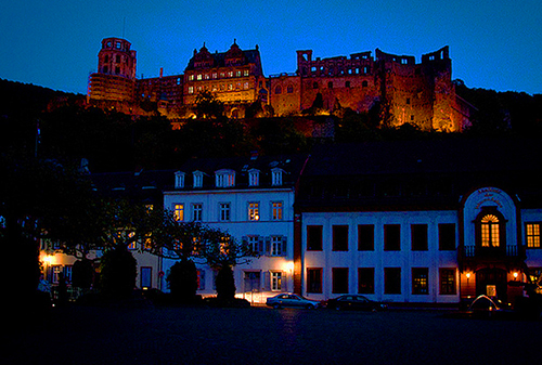 Heidelberg Castle, Heidelberg / photo: ChrisGoldNY
