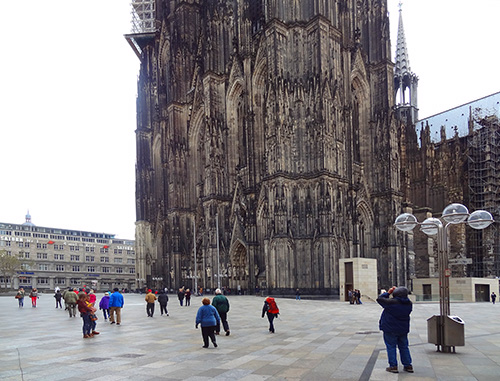 Cologne Cathedral one of the places to visit in Germany / photo: Jim Ferri