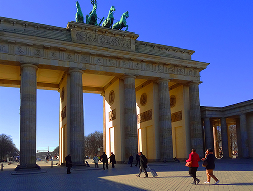 Brandenburg Gate, Berlin / photo: Jim Ferri - one of the places to visit in Germany