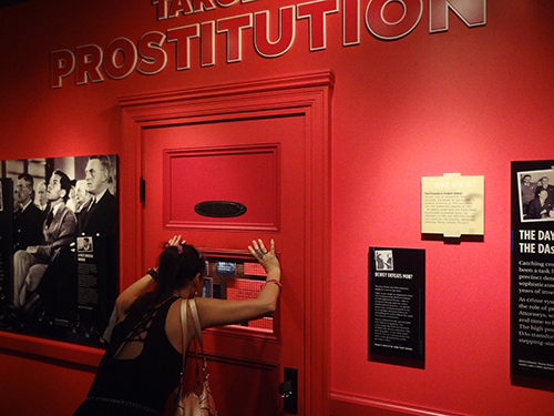 The Mob and prostitution exhibit